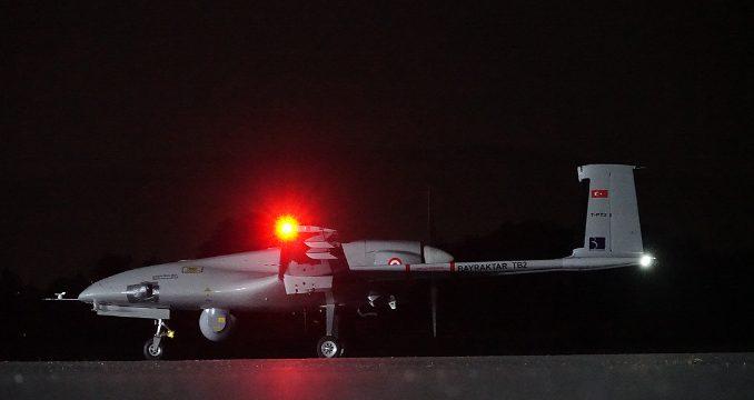 Bayraktar TB2 SİHA ilk test atışı başarılı