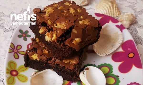 Brownie Şık Görünümü Ve Leziz Tadıyla