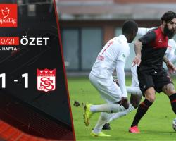 Fatih Karagümrük 1 – 1 Demir Grup Sivasspor Maç Özeti