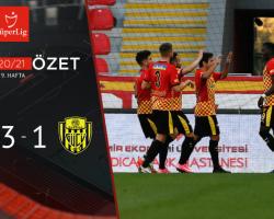 Göztepe 3 – 1 MKE Ankaragücü Maç Özeti