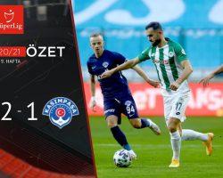 İttifak Holding Konyaspor 2 – 1 Kasımpaşa Maç Özeti