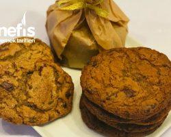 Kıyır Kıyır Çikolata Parçalı Kolay Cookies / Kurabiyeler