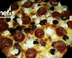 Tavada Pratik Pizza 15 dk da