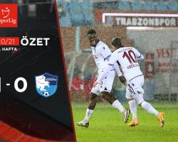 Trabzonspor 1 – 0 BŞB Erzurumspor Maç Özeti